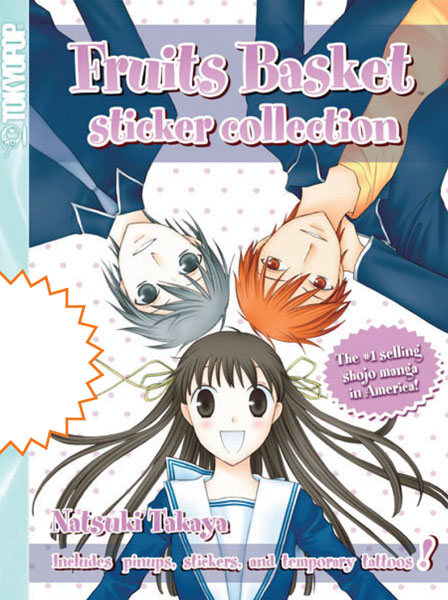 Image: Fruits Basket Sticker Collection  - Tokyopop