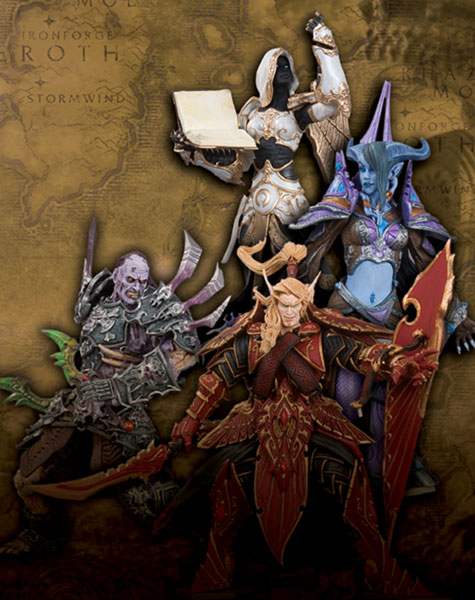 Image: World of Warcraft Series 3 Action Figure Set  (4) -