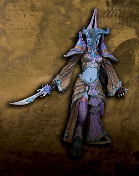 Image: World of Warcraft Series 3 Action Figure: Draenei Mage  -