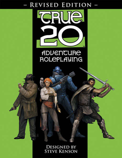 Image: True20 Adventure RPG 2nd ed.  - Green Ronin Publishing