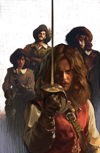 Image: Marvel Illustrated: Three Musketeers #1 - Marvel Comics