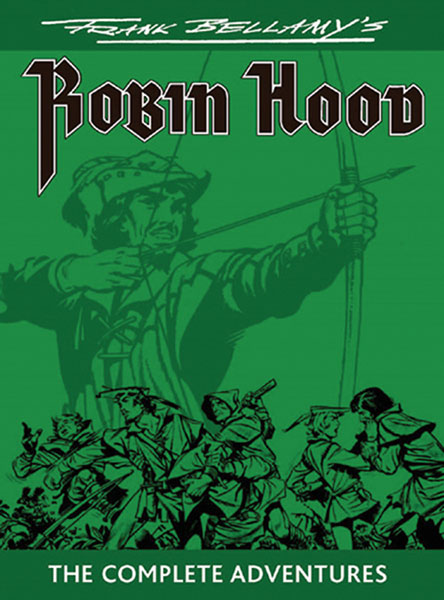 Image: Frank Bellamy's Robin Hood: The Complete Adventures SC  - Book Palace