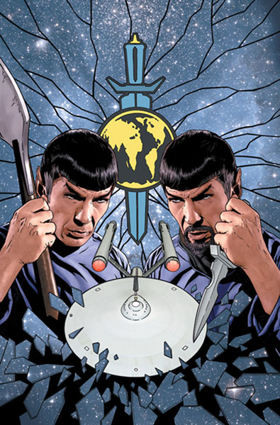 Image: Star Trek: Mirror Images #1 (Cover B) - IDW Publishing