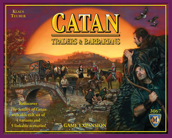 Image: Settlers of Catan Traders & Barbarians  - Mayfair Games