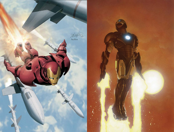 Image: Invincible Iron Man #3 (2nd Print Variant) - Marvel Comics