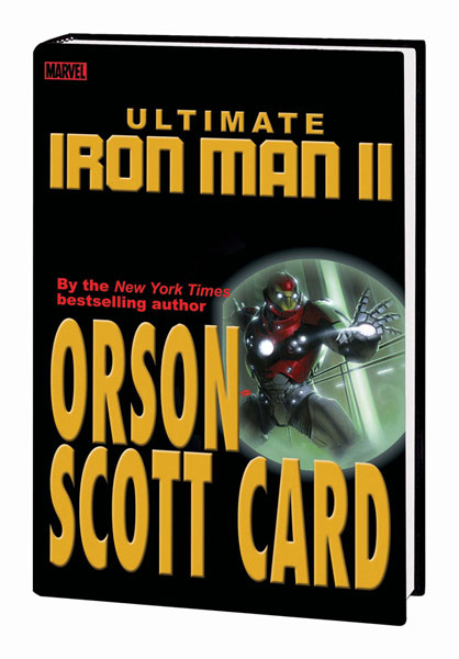 Image: Ultimate Iron Man II  (variant hc) - Marvel Comics
