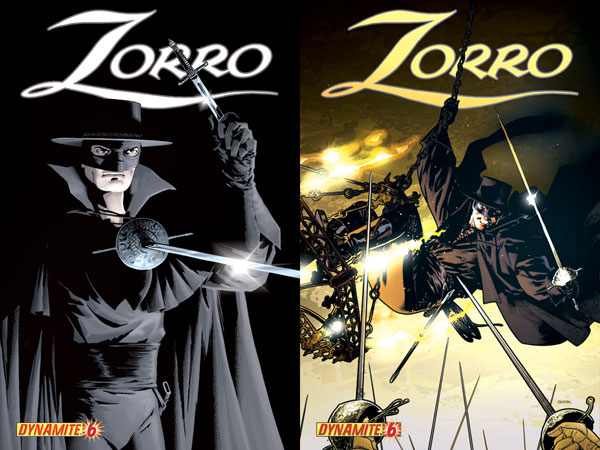Image: Zorro  #6 (Wagner Cover) - D. E./Dynamite Entertainment