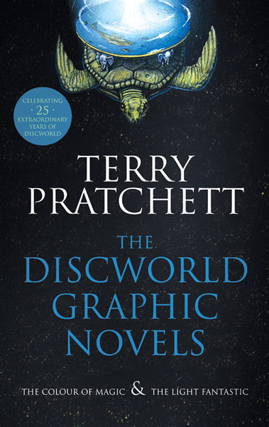 Image: Discworld Graphic Novels: The Colour of Magic & The Light Fantastic HC  - Harper Collins Publishers