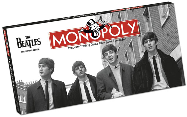 Image: Monopoly Collector's Edition: The Beatles  - USAopoly