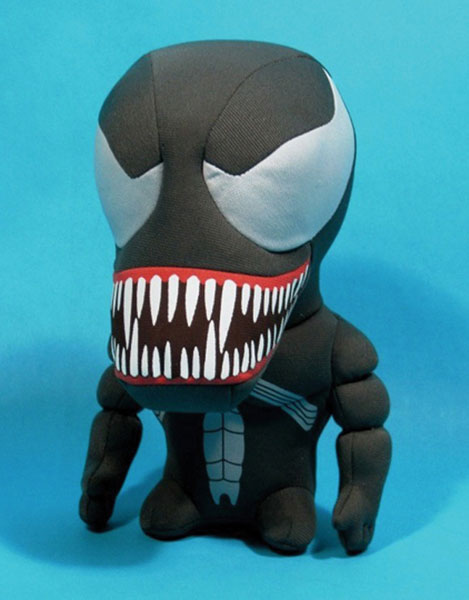 Image: Marvel Super Deformed Plush: Venom  -