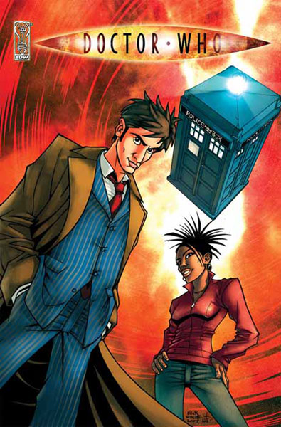Image: Doctor Who: Agent Provacateur SC  - IDW Publishing