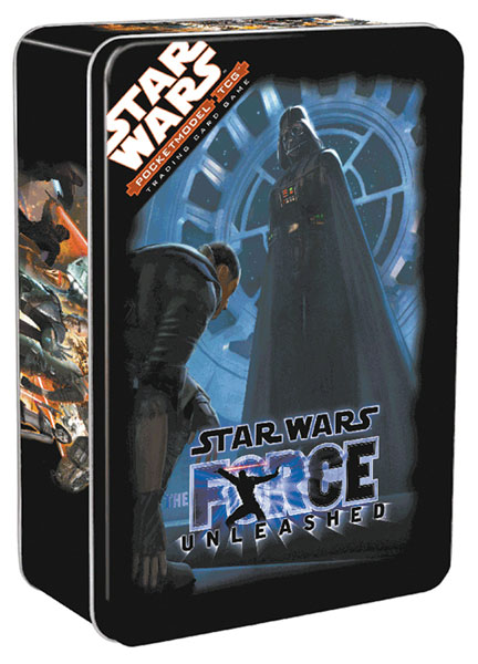 Image: Star Wars: Pocketmodel TCG Force Unleashed Collectors Tin  - Wizkids LLC