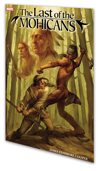 Image: Marvel Illustrated: The Last of the Mohicans SC  - Marvel Comics