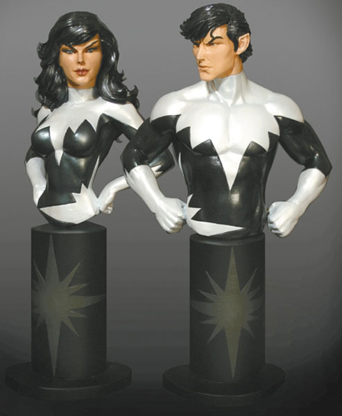 Image: Marvel Mini-Bust Two Pack: Aurora & Northstar  -