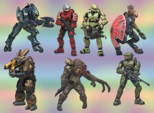 Image: Halo Series 3 Action Figure Assortment  -