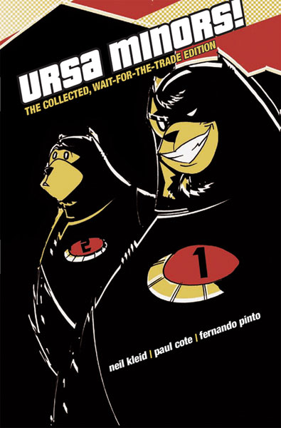 Image: Ursa Minors! Vol. 01: The Collected, Wait-for-the-Trade Ed. SC  - Amaze Ink/Slave Labor Graphics