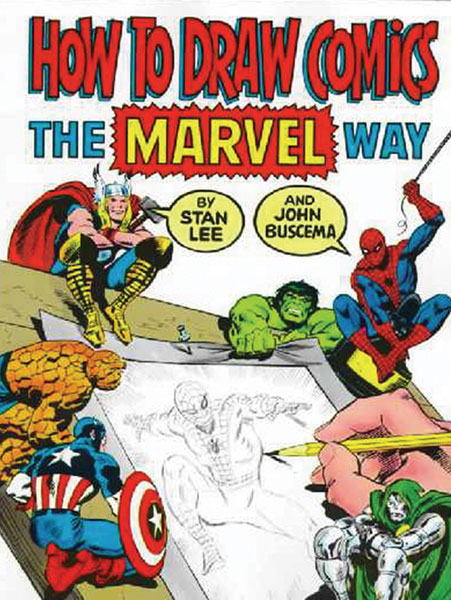 Image: How to Draw Comics the Marvel Way SC  -