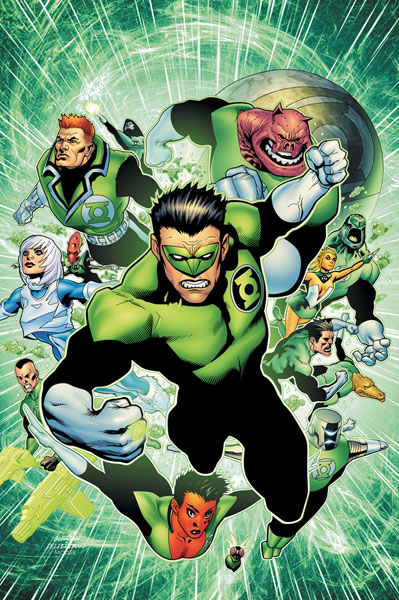 Image: Green Lantern Corps: Ring Quest SC  - DC Comics