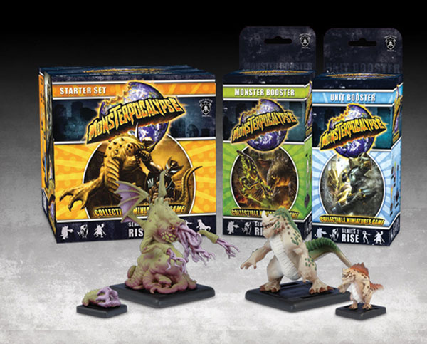 Image: Monsterpocalypse CMG: Rise Monster Booster Box  - Privateer Press