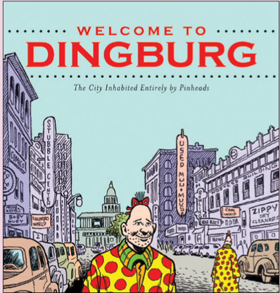 Image: Welcome to Dingburg Vol. 01: A Zippy Collection SC  - Fantagraphics Books