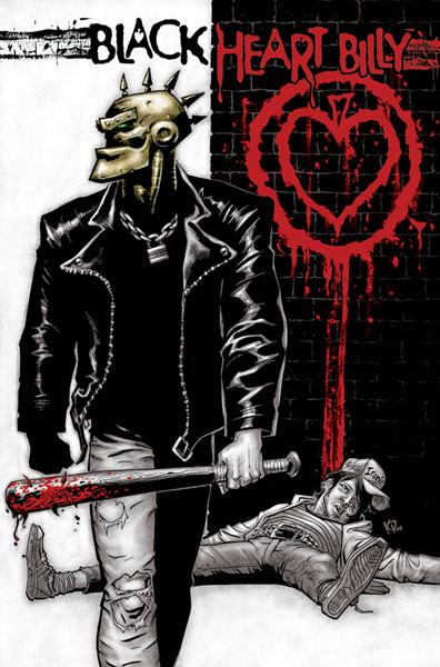 Image: Black Heart Billy SC  (color ed.) - IDW Publishing