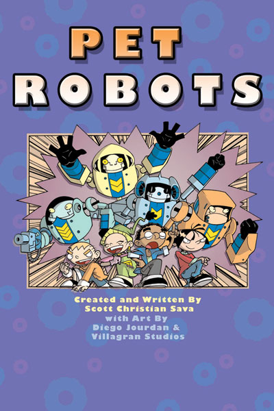 Image: Pet Robots SC  - IDW Publishing