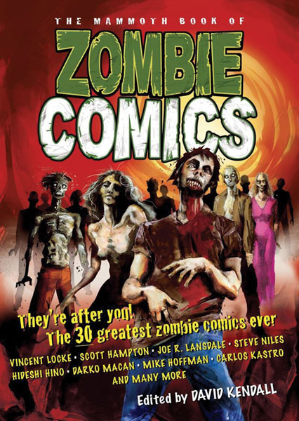 Image: Mammoth Book of Zombie Comics SC  - Running Press