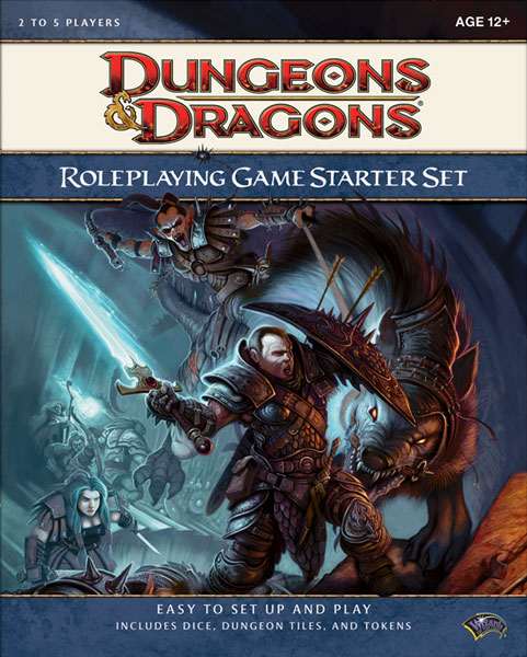 Image: D&D 4th ed. Starter Set  - Wizards of the Coast