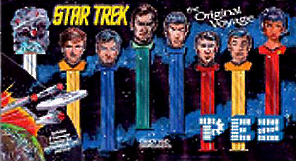 Image: Pez Star Trek Collector's Series  -