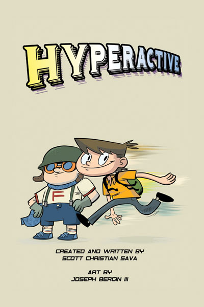 Image: Hyperactive SC  - IDW Publishing
