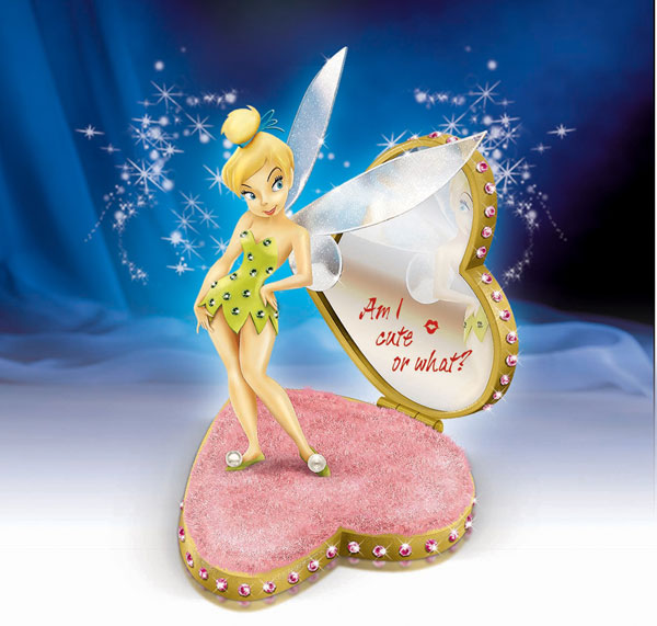 Image: Tinker Bell: 'Am I Cute or What' Figurine  -