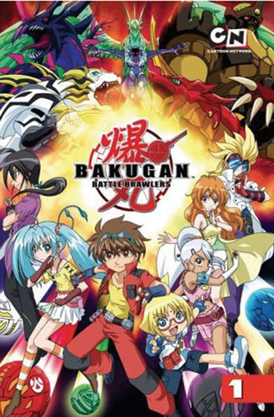 Image: Bakugan Vol. 01: Battle Begins GN  - Del Rey Manga
