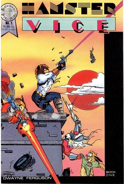Image: Hamster Vice #1 - Blackthorne Publishing