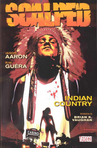 Image: Scalped Vol. 01: Indian Country SC  - DC Comics