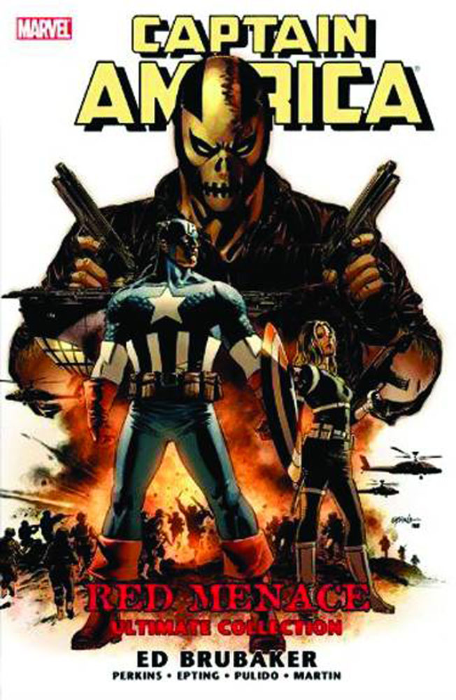 Image: Captain America: Red Menace Ultimate Collection SC  - Marvel Comics