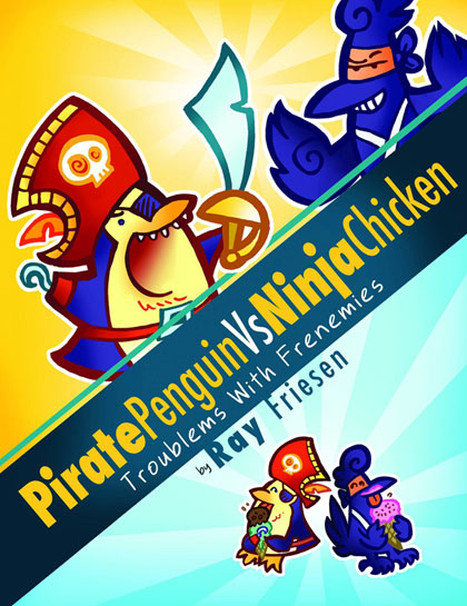 Image: Pirate Penguin vs. Ninja Chicken Vol. 01: Troublems with Frenemies HC  - Top Shelf Productions