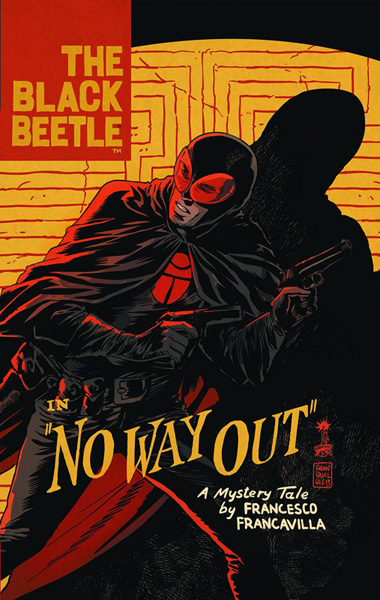 Image: Black Beetle Vol. 01: No Way Out HC  - Dark Horse Comics