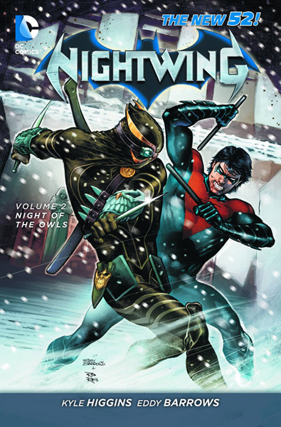 Image: Nightwing Vol. 02: Night of the Owls SC  (N52) - DC Comics