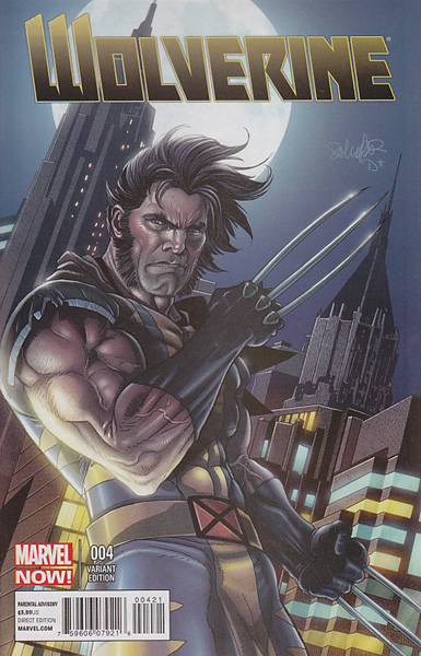 Image: Wolverine #4 (Larocca variant cover) - Marvel Comics
