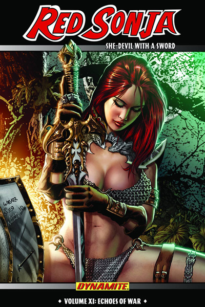 Image: Red Sonja Vol. 11: Echoes of War SC  - Dynamite