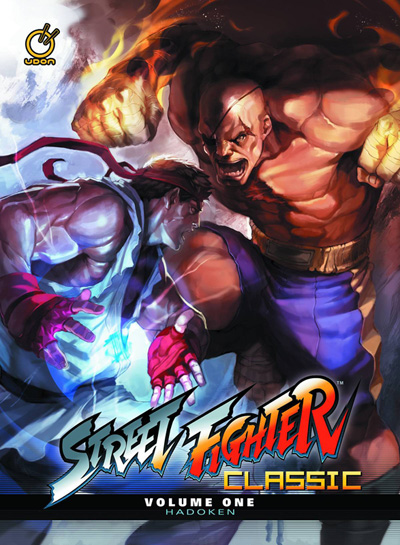 Image: Street Fighter Classic Vol. 01: Hadoken HC  - Udon Entertainment Corp