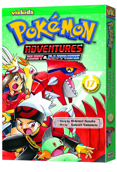 Image: Pokémon Adventures: Ruby & Sapphire Vol. 17 SC  - Viz Media LLC