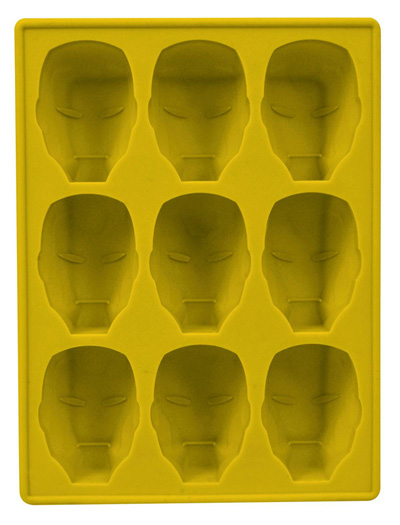 Image: Iron Man Silicone Tray  (Helmet) - Marvel Heroes Toys