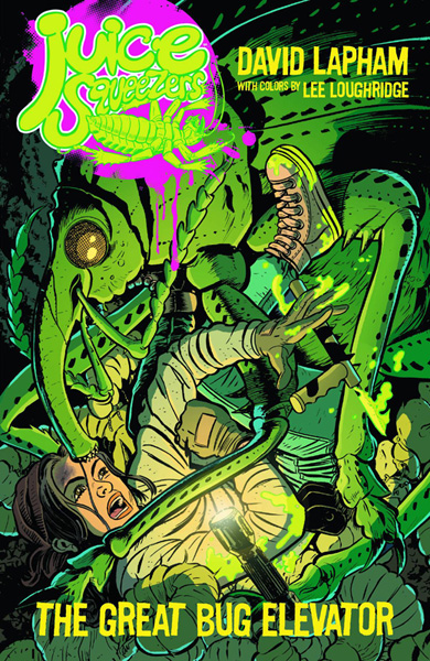 Image: Juice Squeezers Vol. 01: The Great Bug Elevator SC  - Dark Horse Comics