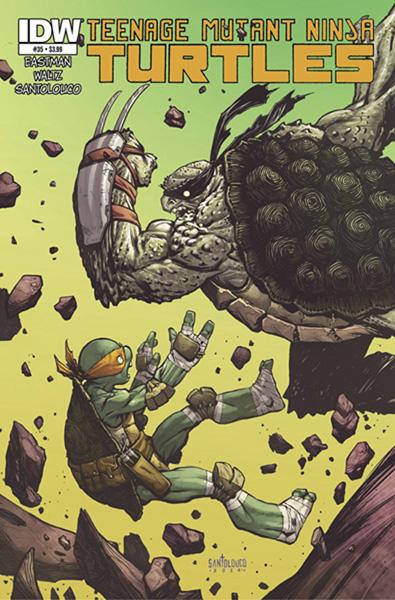 Teenage Mutant Ninja Turtles #35 - IDW Publishing