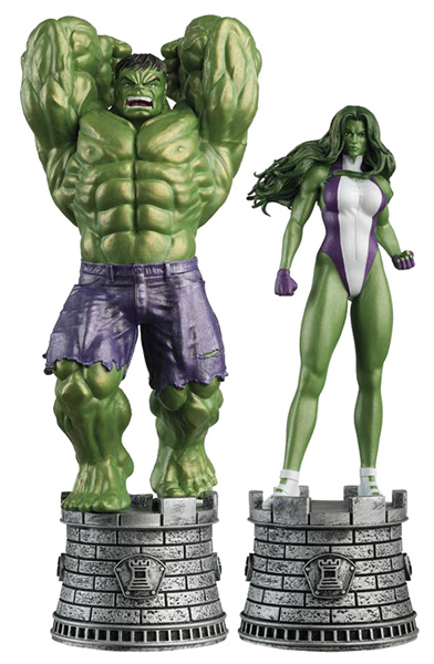 Image: Marvel Chess Figure Collector's Magazine Special #1 (Hulk & She-Hulk) - Eaglemoss Publications Ltd