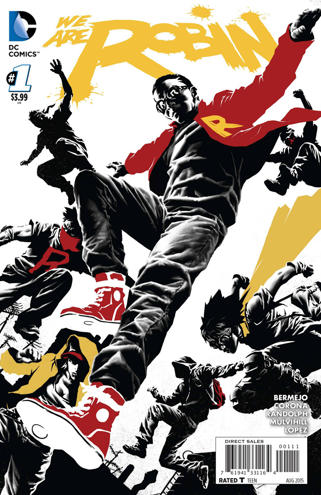 Image: We Are Robin #1 (2015) - DC Comics