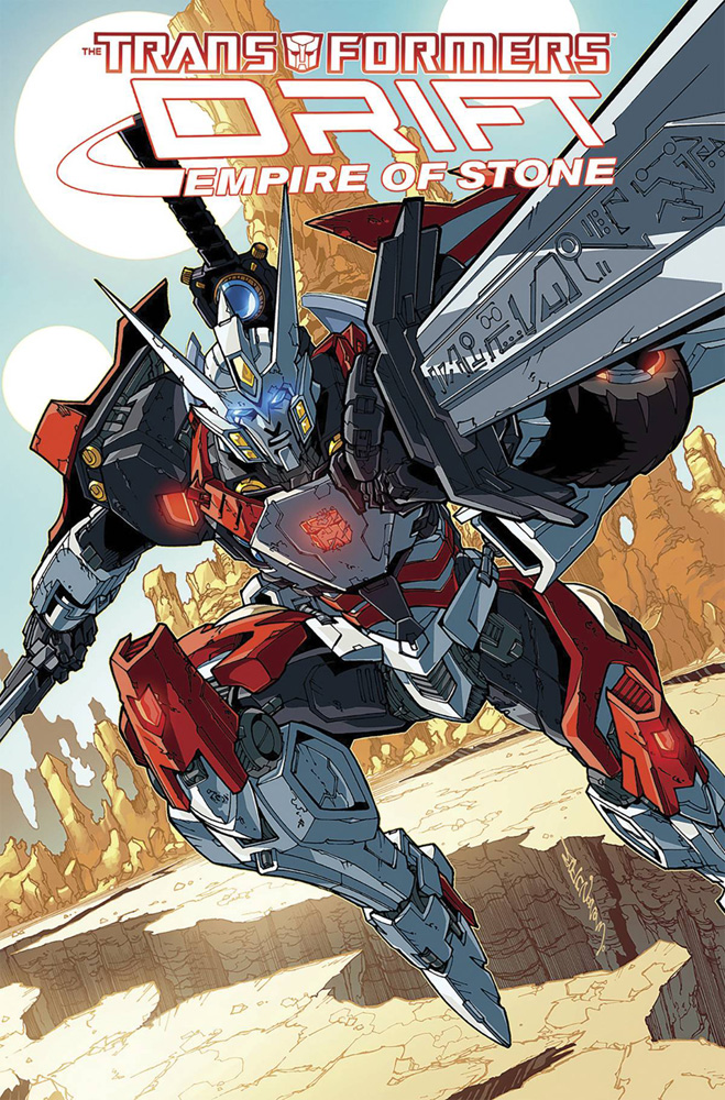 Image: Transformers: Drift - Empire of Stone SC  - IDW Publishing