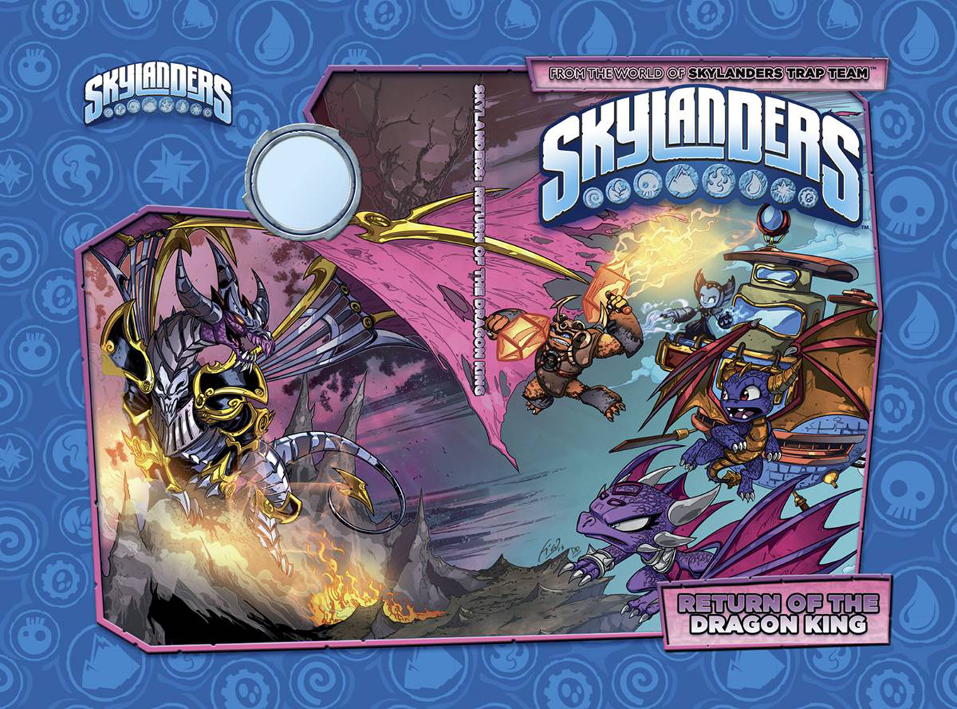 Image: Skylanders: Return of the Dragon King HC  - IDW Publishing