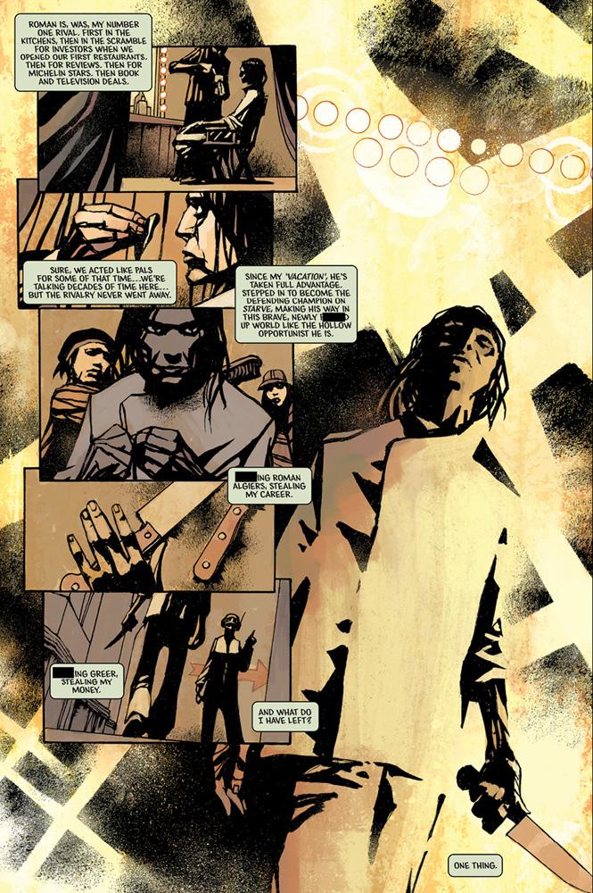 Starve #1 - Image Comics